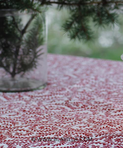 blavilla kangas punainen 1V