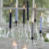 blavilla kynttilät pitkä1 V metalli kynttilänpidike